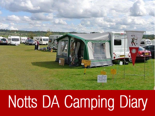 Notts DA caravan and camping diary